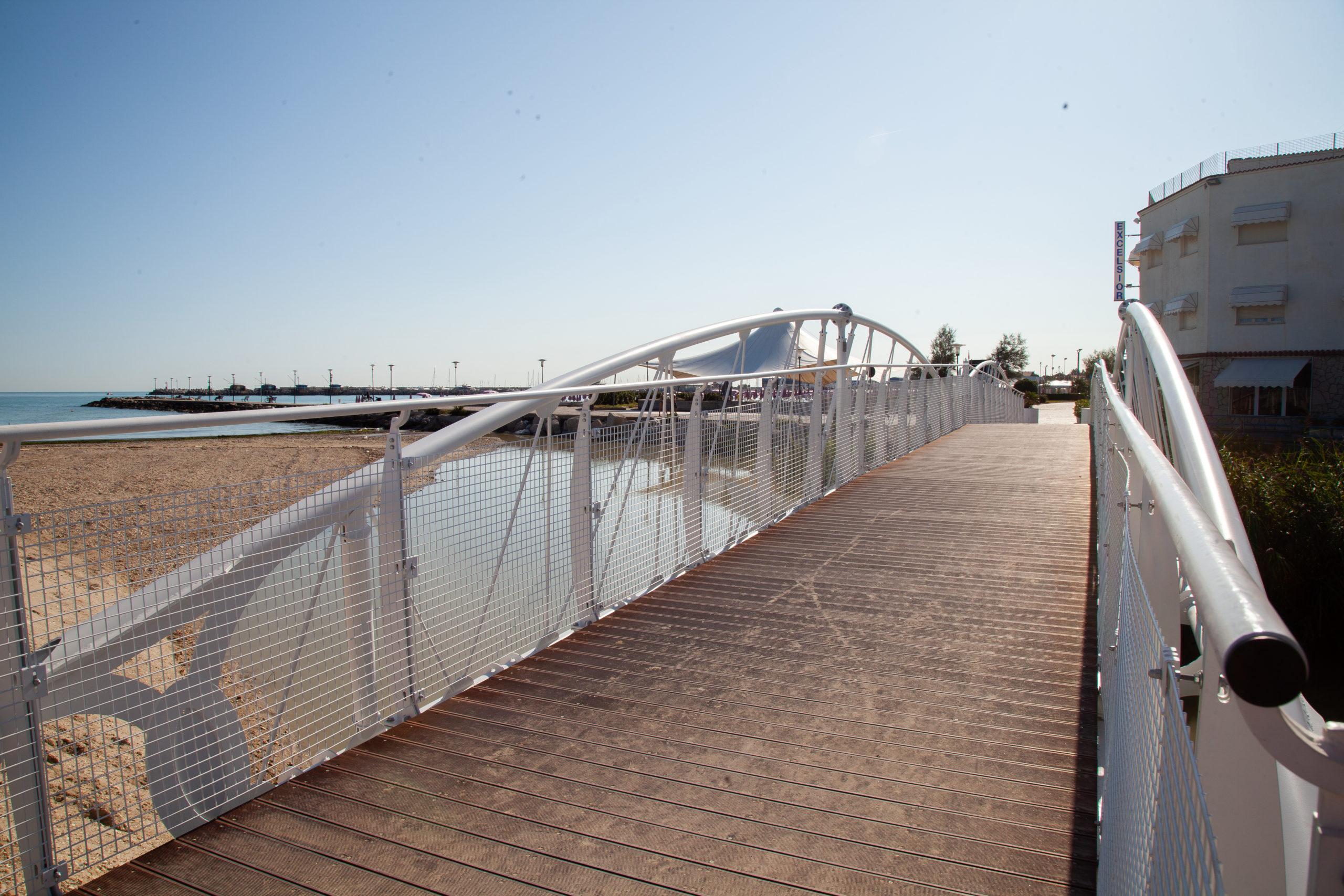 New bridge over the Arzilla River